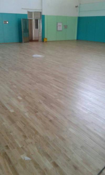 运动地板成功案例之厦门市火炬学校羽毛球馆