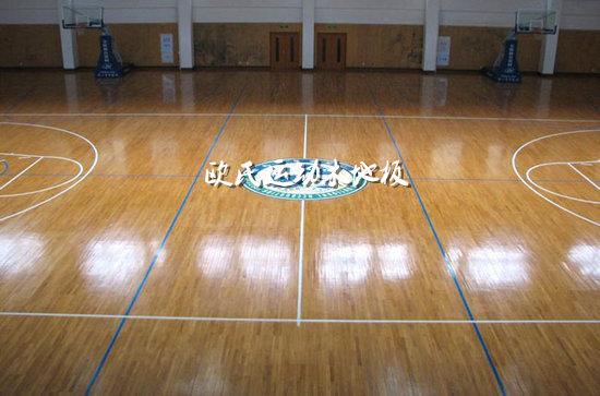 体育木地板应用的场所