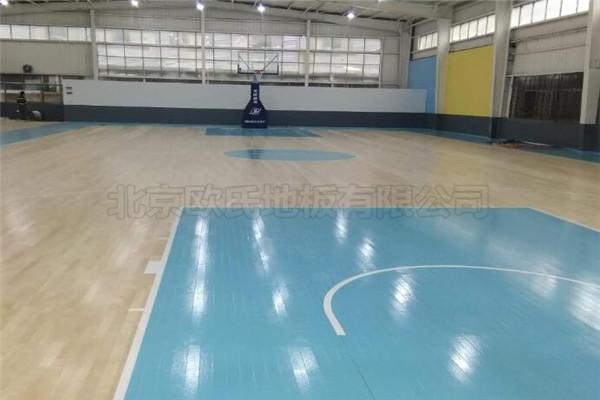 运动木地板--杭州富阳区23篮球馆成功案例
