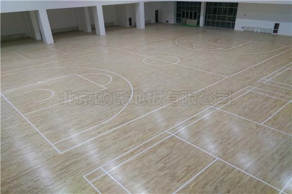 运动木地板--宁夏石嘴山星海中学成功案例