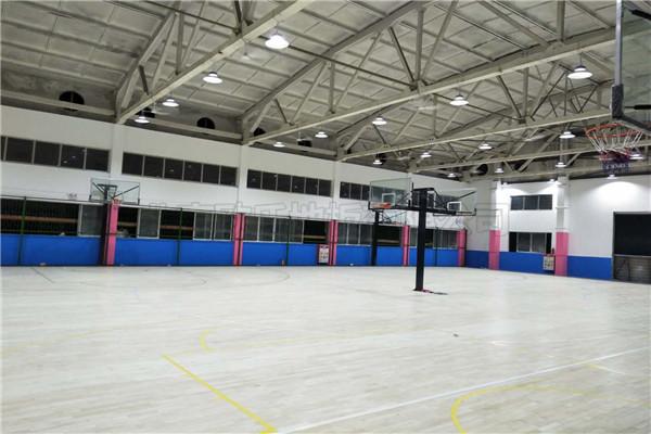 篮球木地板--广东YBDL江门 HOOP PARK篮球公园成功案例