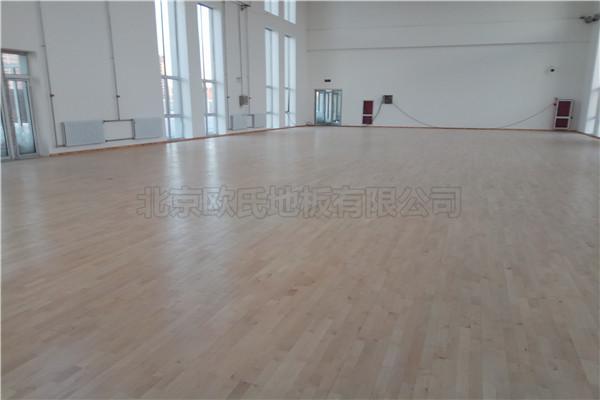 篮球木地板--呼和浩特警训基地