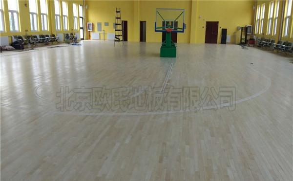 篮球木地板--内蒙古乌海双欣电厂
