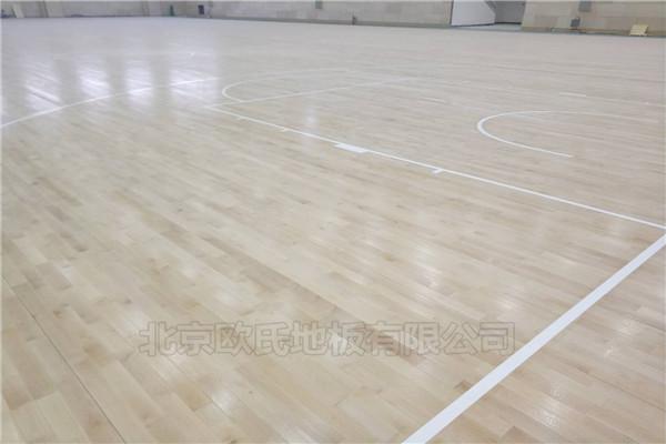 篮球木地板--广东湛江钢铁厂