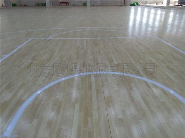 运动馆木地板--江苏泰州泰兴黄桥中学