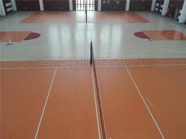 篮球馆木地板--新疆伊犁体校成功案例