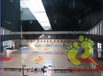 李宁北京总部木地板铺设