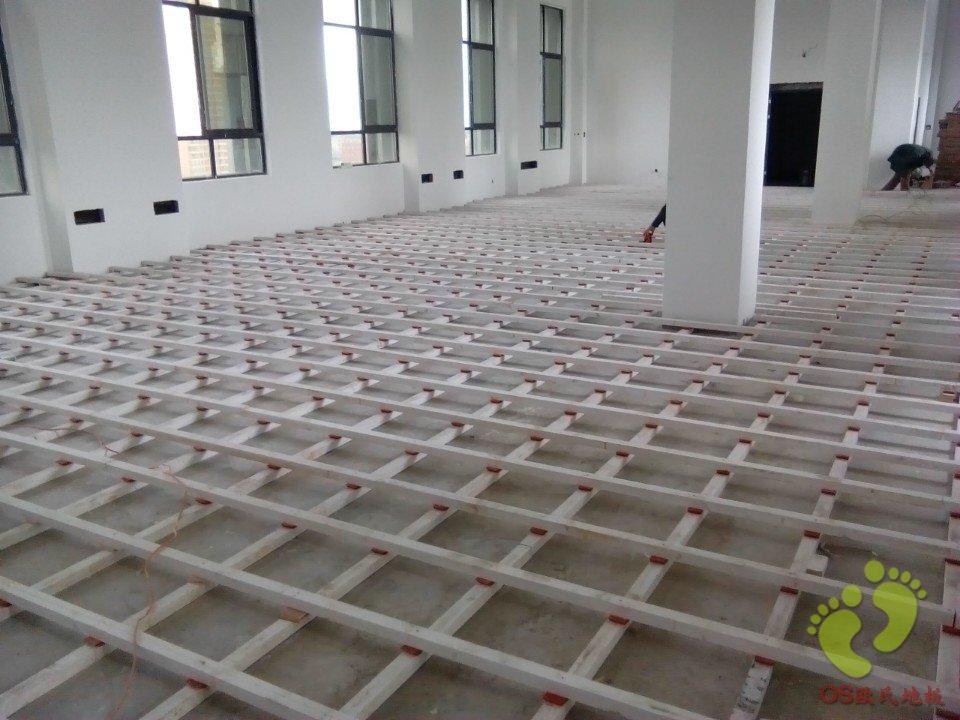 仁怀市财政局业务大楼运动木地板铺设
